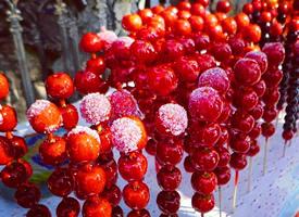 冰糖葫芦 冬天的气息带着甜甜的味道