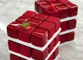 做魔方蛋糕的大师 Cédric Grolet