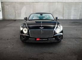 一組全新黑色賓利歐陸GT圖片欣賞