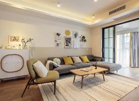 北欧暖色调设计装修效果图 暖暖的家