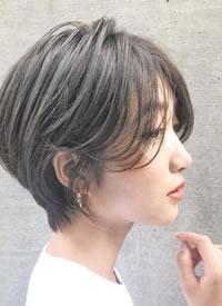 一组帅气酷酷的女生短发图片