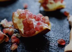 一组超级好看的石榴果肉高清图片欣赏