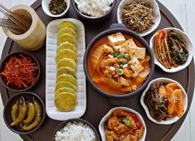 一组超有食欲菜品丰富的家常菜图片