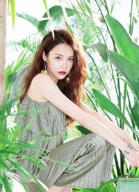 黄一琳性感迷人时尚杂志封面大片