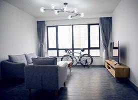 138平三室两厅北欧简约风格装修效果