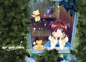 長相甜美可愛的百變小櫻圖片欣賞