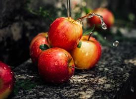 一组森系风格感-甜甜的苹果图片