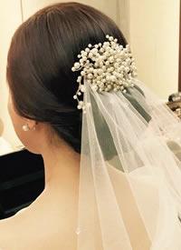 一组仙气十足的新娘造型图片参考