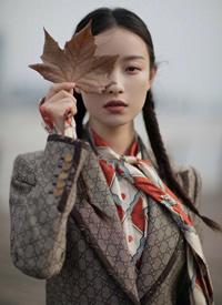 倪妮 文艺少女的复古风情图片