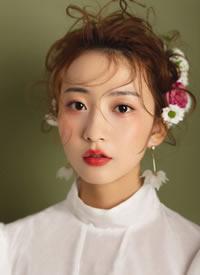 一组日系森美的化妆外型图片观赏