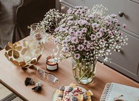 好好生活,总会遇见美好的事-好看的花束图片