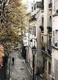 一组唯美意境的巴黎街头拍摄图片
