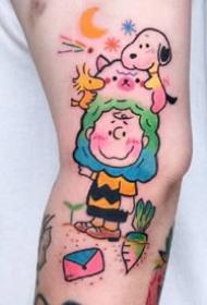 很心爱的一组卡哇伊黑色小纹身图片
