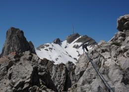 阿尔卑斯山徒步登山图片_11张