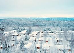 白雪皑皑的冬季图片_12张