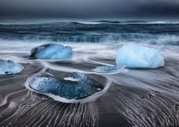 美麗的冰川景色圖片_9張