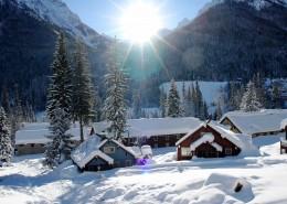 初雪唯美风景图片_11张