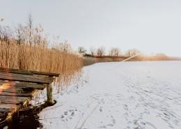 凍結的湖水圖片_12張