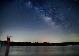 繁星點點的夜空圖片_14張