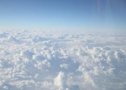 高空中的云层图片_12张