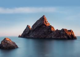 海边礁石风景图片_9张