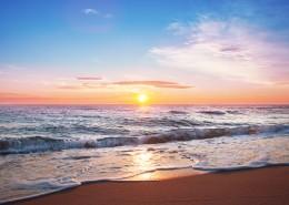 海边日出风景图片_11张