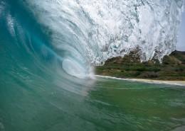 大海中的海浪图片_12张