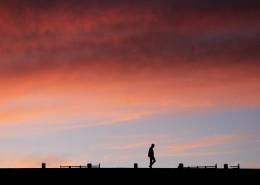 黄昏时天边的云彩图片_19张