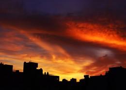 黄昏时天空美景图片_10张