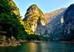 美麗的湖光山色圖片_9張