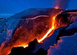 壮丽火山风景图片_9张