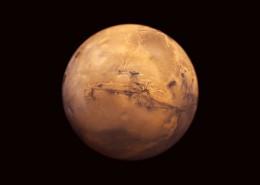 火星壮美风景图片_9张