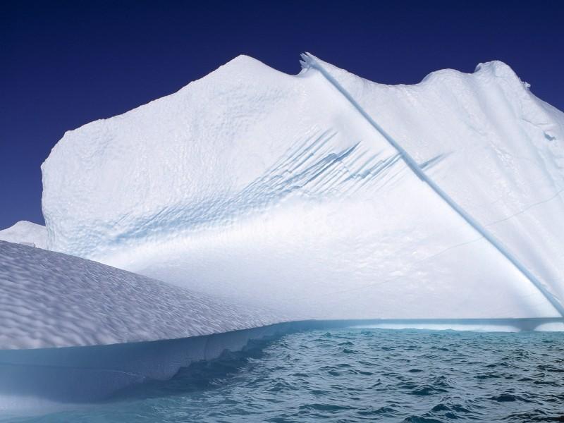 極地冰山圖片_20張