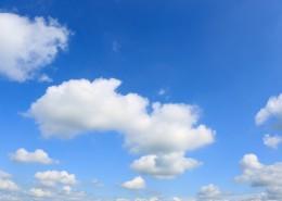好看的蓝天白云图片_14张