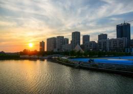 美丽的落日风景图片_15张
