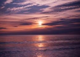 美如畫的朝陽與夕陽圖片_18張