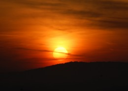 唯美的日出日落图片_11张