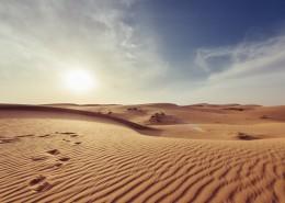 干旱缺水的沙漠圖片_12張