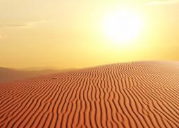 美丽的沙漠风景图片_15张