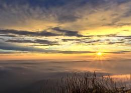 山顶的云海图片_8张