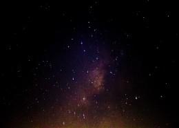 夜晚闪耀的星空图片_12张