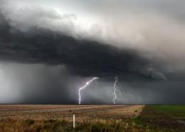 風暴的天空圖片_14張