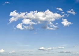 天空中的云朵图片_12张