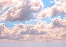 天上美丽的云朵图片_16张