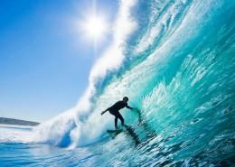 好看极了的海浪图片_19张