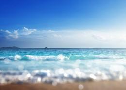 唯美海浪景色图片_10张