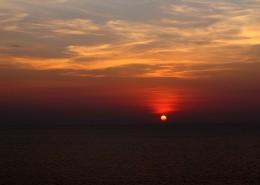 唯美的落日图片_5张
