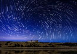 漂亮的星軌星空圖片_12張
