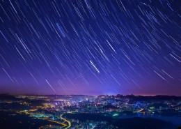 美妙灿烂的星空图片_9张