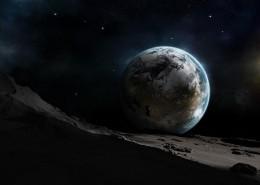 星空地球图片_10张